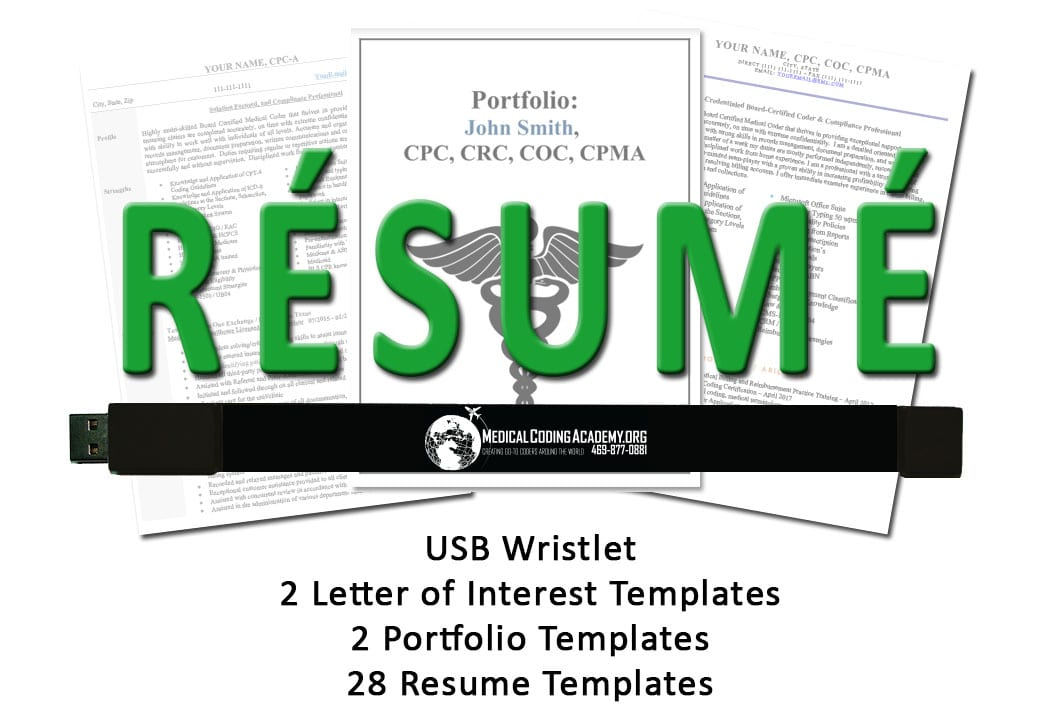 Resume Kit For Medical Coders Medical Coding Academy